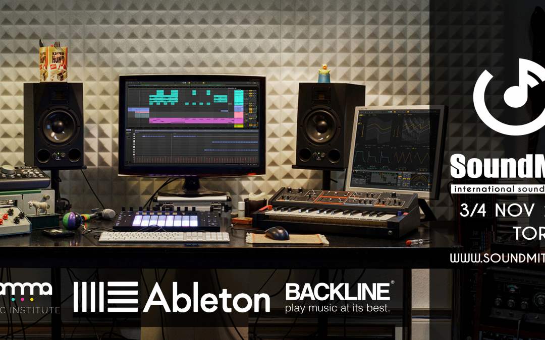 Gamma Music Institute + Backline + Ableton = SOUNDMIT!