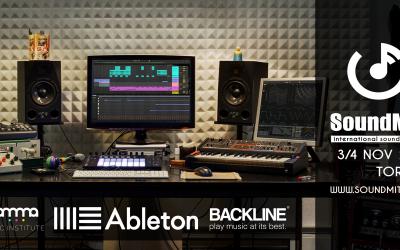Gamma Music Institute + Backline + Ableton = SOUNDMIT!