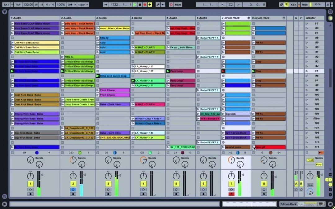 Tutorial – Come fare un Mix DJ SET Utilizzando Ableton Live