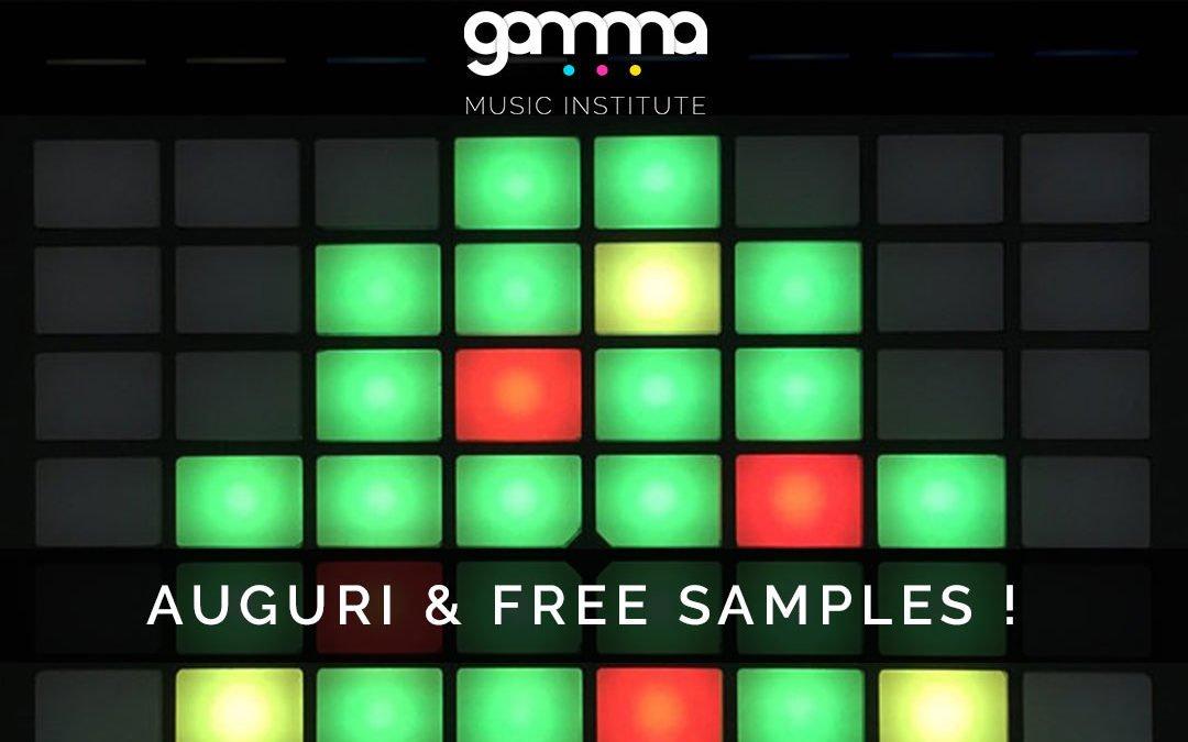Buone Feste dal Gamma Music Institute! In regalo, centinaia di librerie di suoni tutte rigorosamente FREE