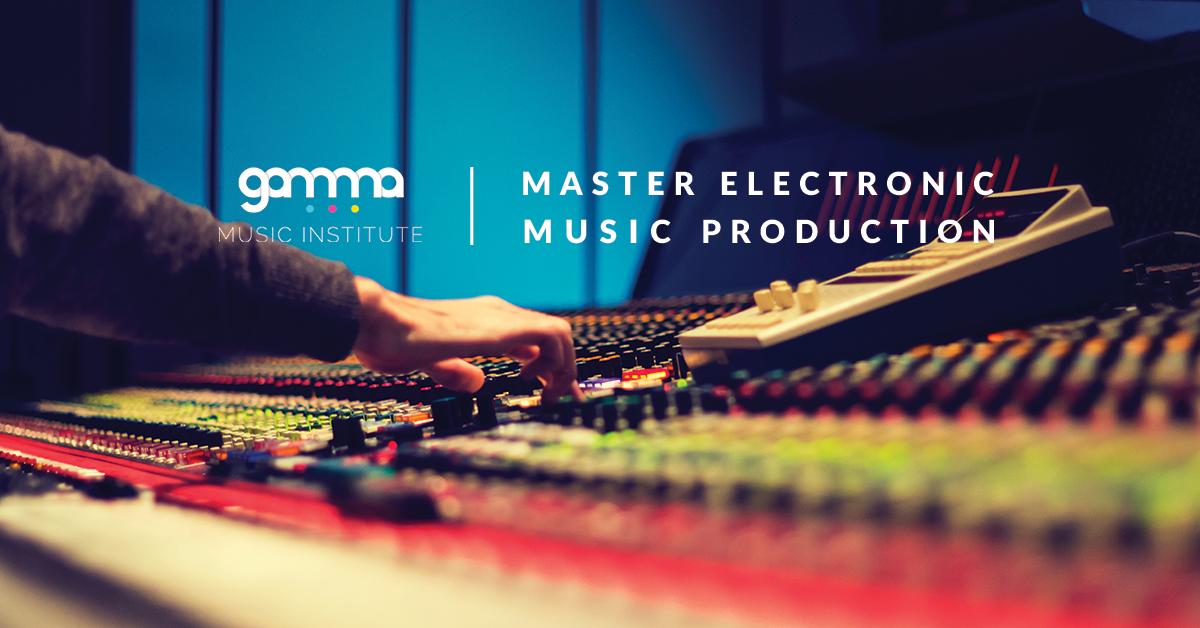 Immagine Master Produzione Musica Elettronica
