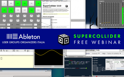 Supercollider free webinar