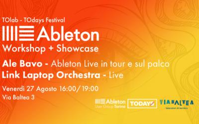 ABLETON FREE Workshop + Showcase